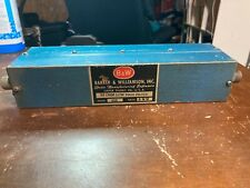 Bampw 52 Ohm Low Pass Filter 15 30mhz 1kw Model 425 Serial 100