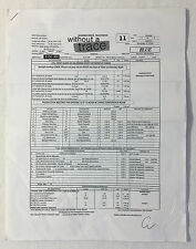 2008 CBS tv show WITHOUT A TRACE set used CALL SHEET+sides~Season 7, Episode 11