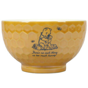 Winnie The Pooh Hunny Honeycomb Design Disney Stoneware Bowl 14cm Diameter Boxed