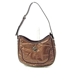 HUNTING WORLD Shoulder bag Brown Woman Authentic Used T3802