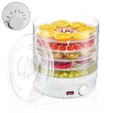 Laptronix Food Dehydrator 5 Tray Shelf Dryer Machine Fruit Preserver Beef Jerky