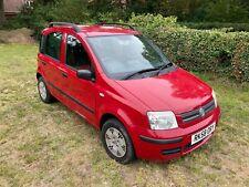 2008 Red Fiat Panda 1.2, Diesel, Multijet, 5 door, Full MOT, Low Mileage, Manual