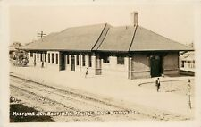 c1910 RPPC New Southern Paciffic RR Depot, Medford OR Jackson Co., Anderson 153