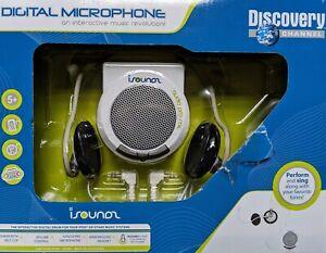 Brand New In Box Discovery Channel Digital Microphone Kids Headset Karaoke
