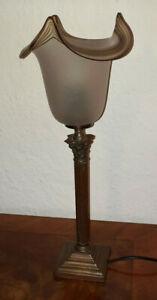 Antike Stil Tischlampe, Lampe, Tischleuchte, Nachlass