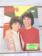 Stars magazine vtg 1983 Scott Baio Erin Moran cvr Travolta Reeve Hasselhoff