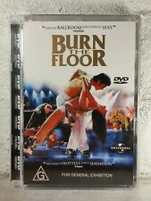 Burn The Floor DVD - Region 4 Ballroom/Latin Dancing RARE OOP