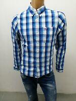 Camicia HOLLISTER UOMO taglia size S shirt man chemise uomo maglia polo p 5766