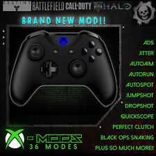 XBOX ONE RAPID FIRE CONTROLLER - NEW MOD - BEST ON EBAY! - Blackout Blue LED
