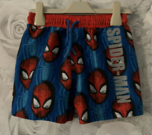 Boys Age 5-6 Years - Swimming Shorts - Spider-Man
