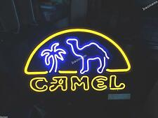 RARE New Camel Cigarette Tobacco Logo BEER BAR REAL NEON LIGHT SIGN Free Shiping