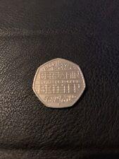 2013 Benjamin Britten - UK 50p coin - Great British Coin Hunt Very Rare Freepost
