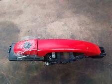 FORD FG  FALCON  RIGHT FRONT DRIVERS EXTERIOR DOOR HANDLE  PC: VX  VIXEN RED