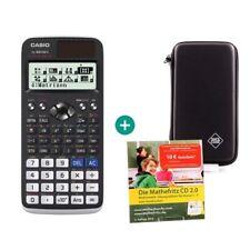Casio fx 991 de x calculadora + funda protectora y mathefritz aprender CD