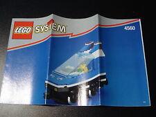 LEGO SYSTEM Eisenbahn - Bauanleitung Zugmaschine aus Set 4560 - NEU