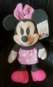 Disney Baby Minnie Mouse Pink Pastel Plush