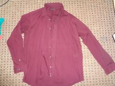 "GEORGE-MEN'S SHIRT SIZE M-L 16"" COLLAR 48-50"" CHEST TIE COLLAR BUSINESS work"