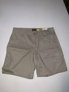 NWT Cabela's Womens 4 Limestone Cargo Shorts