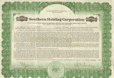 Southern Holding Corporation > 1928 share stock certificate