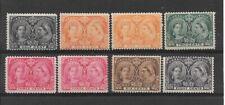 CANADA 1897 stamps(8) Jubilee, fine mint, min.Cat.£346+
