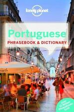Portuguese Phrasebook and Dictionary by Lonely Planet Staff (2012, Paperback,...