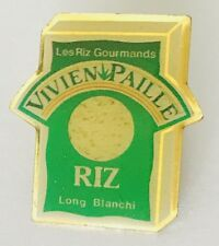 Les Riz Gourmands Vivien Pailie Advertising Pin Badge Vintage (C17)