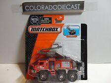 Matchbox Real Working Rigs Fire Stalker Truck