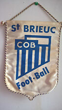 Vintage Fanion St Brieuc Cob Football Foot 26 cm x 18 cm