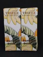 Trifle Cosmetics Summer Souffle Bronzer Primer Caramel Glow 2-Pack New & Sealed