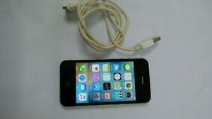 Apple iPhone 4S A1387 16GB Black Unlocked Smartphone