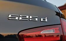 BMW NEW GENUINE F10 F11 5 SERIES 525d TRUNK BADGE EMBLEM LOGO 7219546