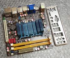 Asus AT3N7A-1 REV. 1.01G Mini ITX Intel Atom 330 Motherboard & Back Plate