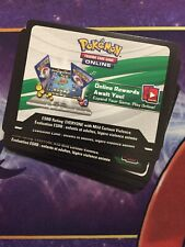 Hidden Fates Pin Collection Mew & Mewtwo Promo Pokemon Online TCG Code Cards