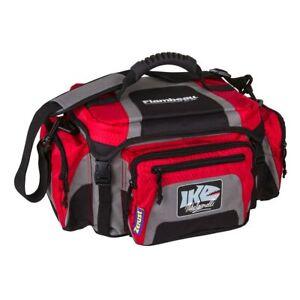 6340ZK Flambeau IKE 400 Duffle Style Tackle Bag RED Professional Series NEW!!