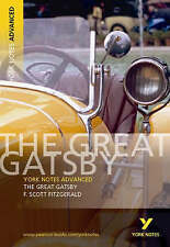 The Great Gatsby: York Notes Advanced, By F. Scott Fitzgerald,in Used but Accept