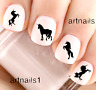 Unicorn Horse Silhouette Nail Art Water Decals Stickers Manicure Salon Polish