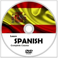 Learn to speak SPANISH COMPLETE Language Course DVD ROM MP3 AUDIO PDF TEXTBOOKS