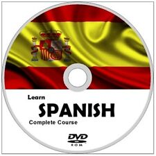 Learn to speak SPANISH COMPLETE Language Course DVD ROM MP3 AUDIO PDF TEXTBOOKS