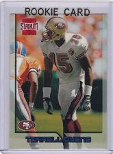 TERRELL OWENS ROOKIE CARD 1996 Topps Stadium Club TSC San Francisco 49ers NFL RC