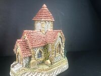 David Winter Cottage St. Joseph's From Pilgrams Way Collection Box Coa Mint.