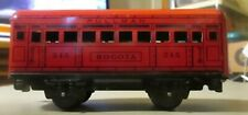 MARX 245 BOGOTA PULLMAN COMPLETE AND IN EXCELLENT CONDITION 6 INCH LONG EXCELLEN