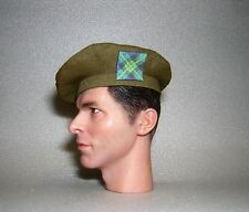 Banjoman 1:6 Scale Custom Made Tam O'Shanter - Khaki Green The Gordon's