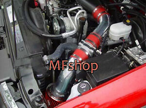 RED For 1996-2004 Chevy S10 4.3L V6 Pickup Cold Air Intake System Kit + Filter