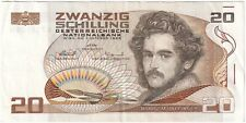 More details for 1985 | austria 20 schilling banknote | banknotes | km coins