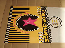 "Age of Chance-KISS - 12"" EP-Age T 5-UK 1987-yellow sleeve"