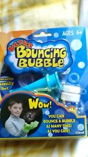 Ultra Bouncing Bubbles Set With Magic Gloves For Age 6+ Years - Brand New