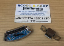 LAMBRETTA ULMA HORNCASTING BADGE & S/S CLIP - LI - SX TV. BLUE -  NEW