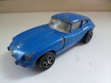 2+2 E Type Jaguar - Corgi -  Blue - GT Britain