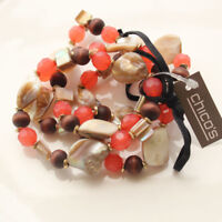 New Chicos Beads Strands Bracelet Best Gift Fashion Women Party Holiday Jewelry