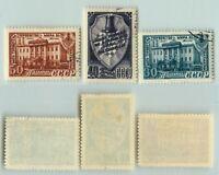 Russia USSR 1948 SC 1299-1301 Z 1246-1248 used . e5713